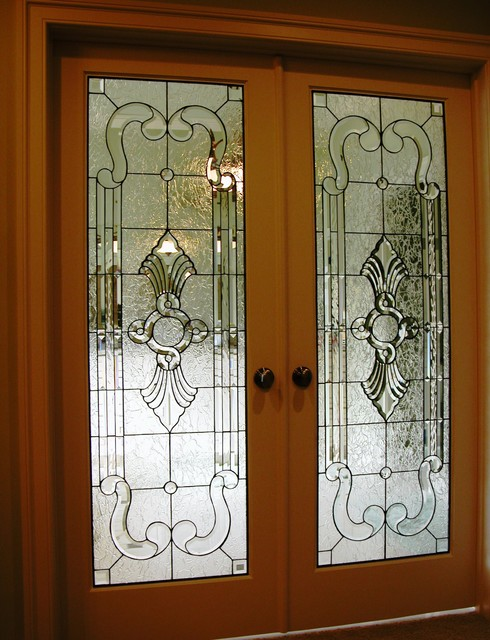 Decorative Interior Doors : Unique inspiration stained glass interior doors homesfeed