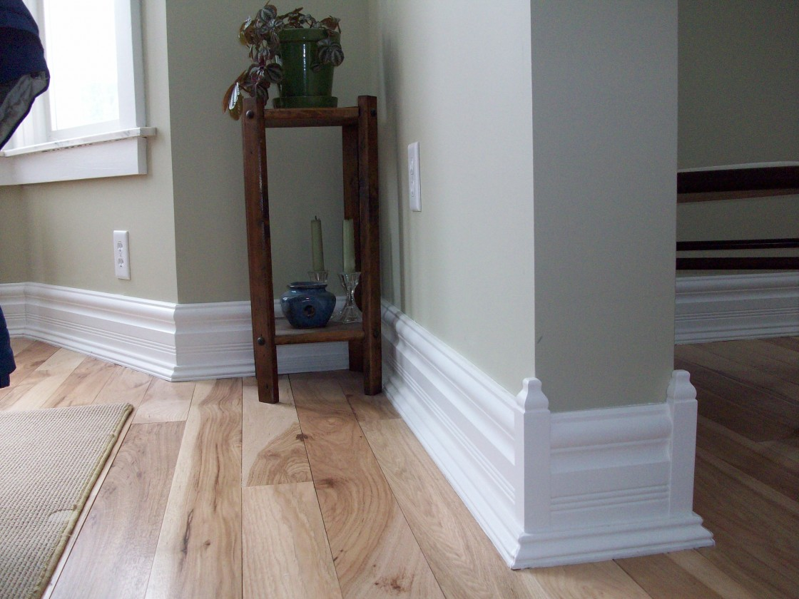 How To Decorate White Baseboard Should We Paint It In