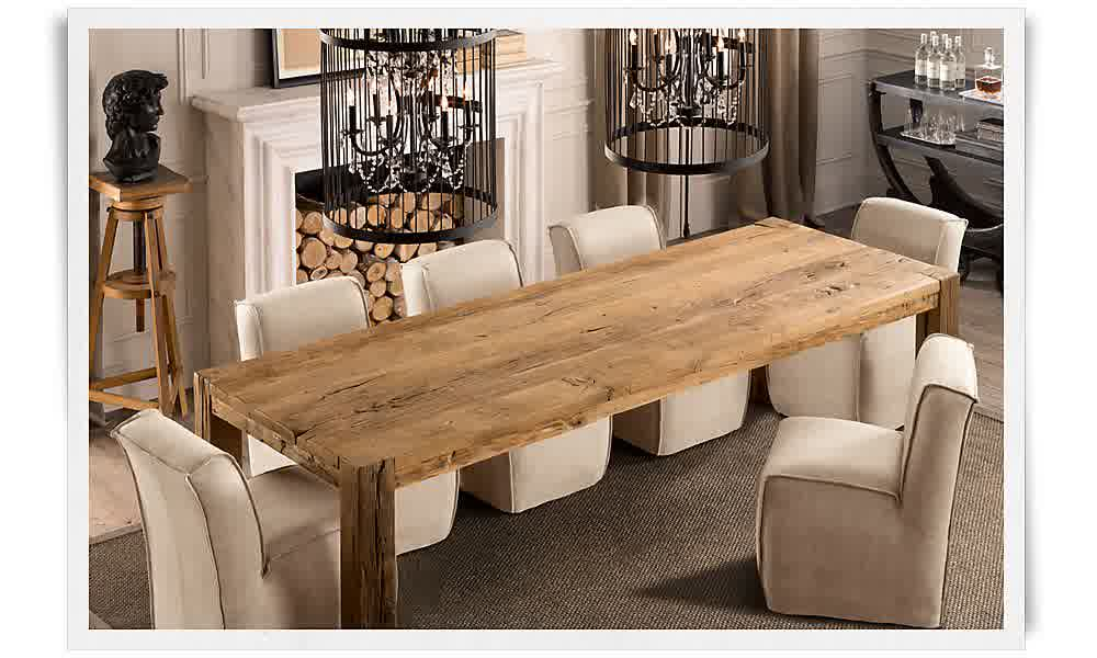 Narrow dining tables homesfeed for Narrow dining room table