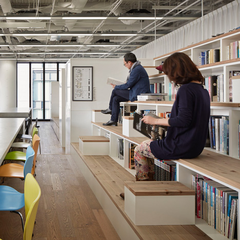 Cool and inspiring bookcase stairs designs homesfeed for Office stairs design