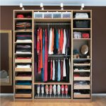 Clothes closet storage with a lot of shelves as the best alternative storage solution