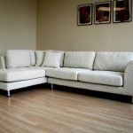 Comfy White Sectional Sofa With One Chaise