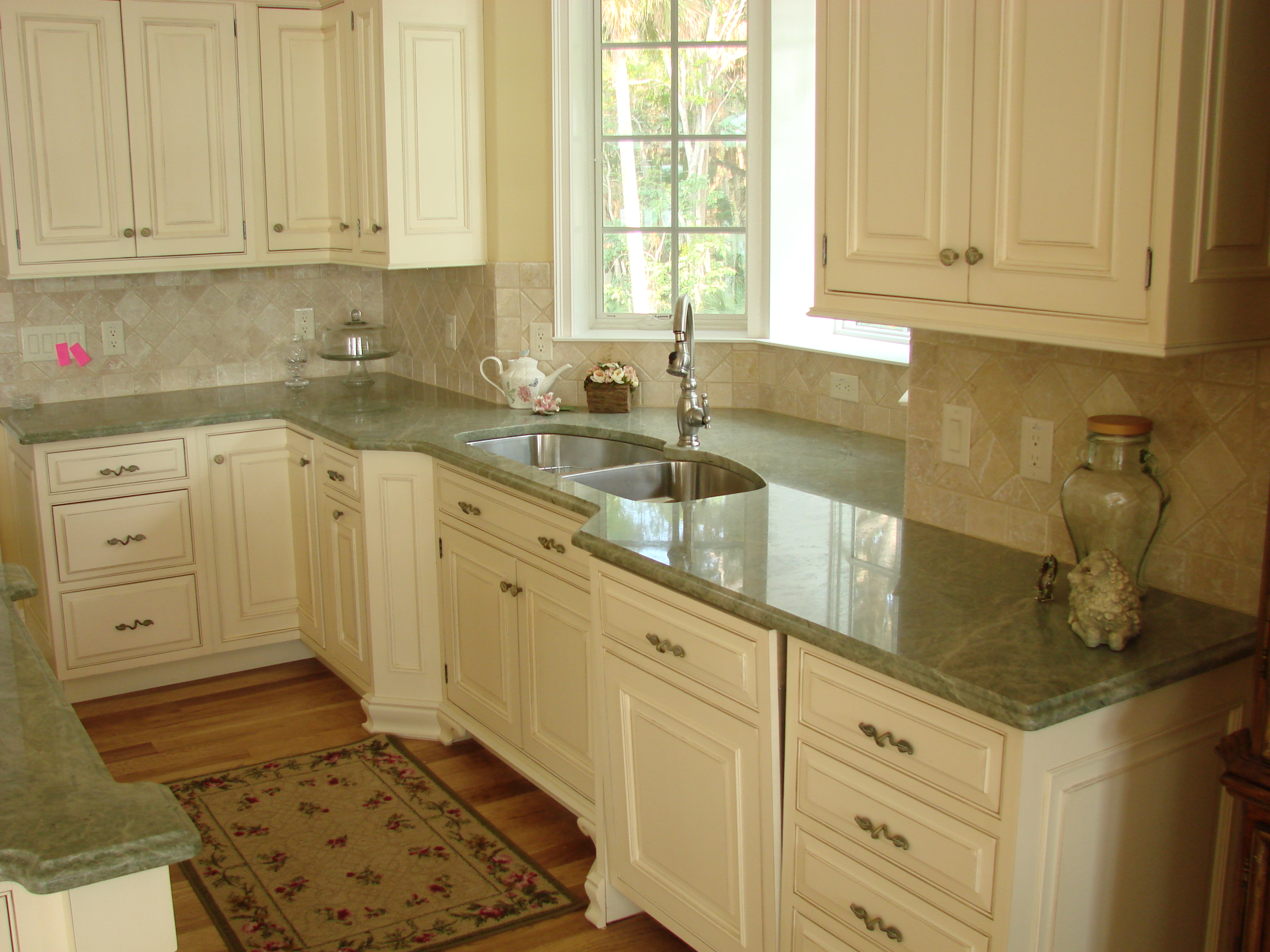 5 favorite types of granite countertops for stunning for White cabinets granite countertops