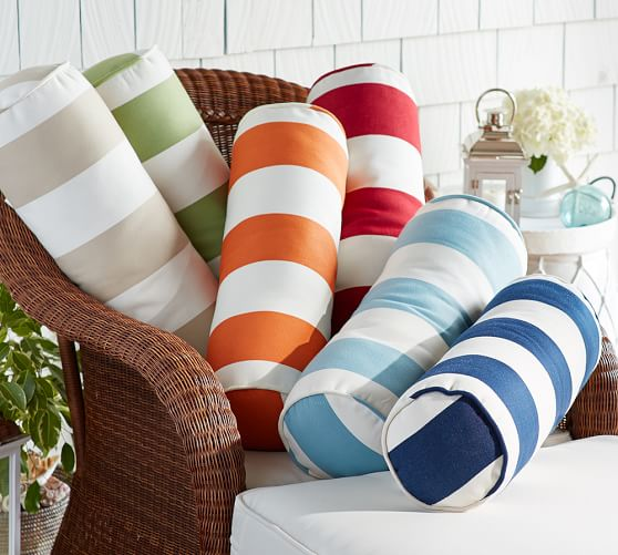 Wonderful Cute Bolster Pillows For Patio Furniture