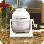 Easy and portable washer on marble countertop