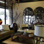 Eklektik Interiors decorator Houston for timeless elegant living room with antique furniture