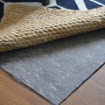 Felt rug pad for hardwood floor brown wooden floor natural fiber rug
