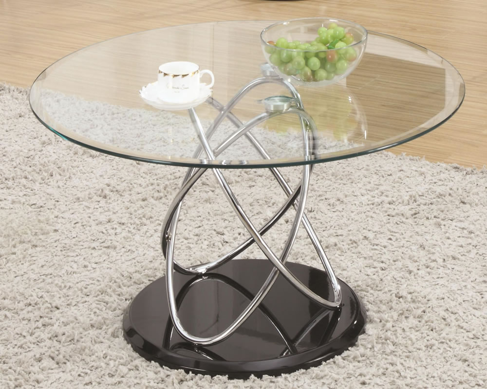 Glass and metal coffee tables homesfeed for Wire coffee table