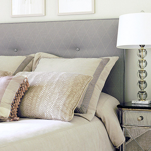 grey padded headboard. all images. full image for grey padded, Headboard designs