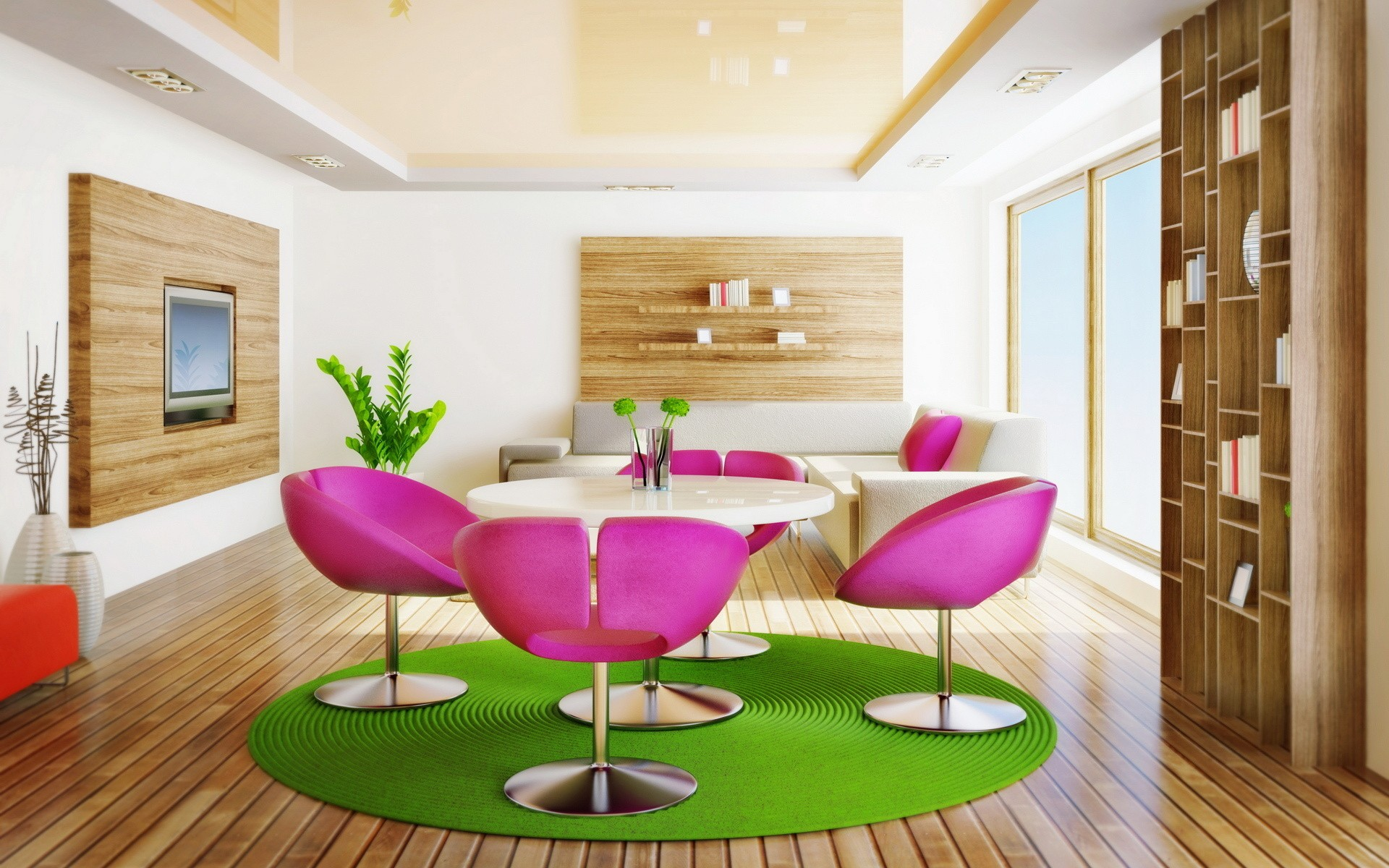 Interior design for dummies unity in interior design purple and green goes well with natural brown