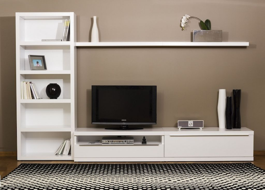 Ikea White Tv Stand Sweet Couple For Minimalism Homesfeed