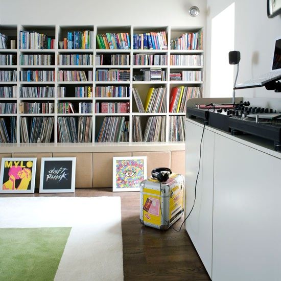 Record storage ideas homesfeed for Shelving and storage ideas