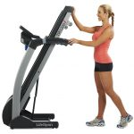 Lifespan best treadmill under $1000 TR 1200i Folding Treadmill  built-in soft touch keys to the handles