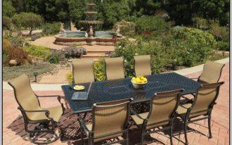 Modern metal furniture for patio black metal table