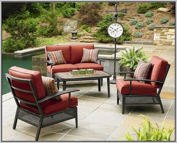Better homes and gardens patio cushions homesfeed for Better homes and gardens patio furniture cushions