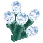Phillips crystal light fixtures for Christmas trees