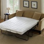 Sleeper sofa with IKEA mattress pad