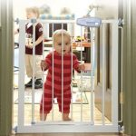 Small safety railing gate designed for kids