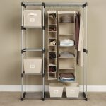 Smart solution for small closet organizer