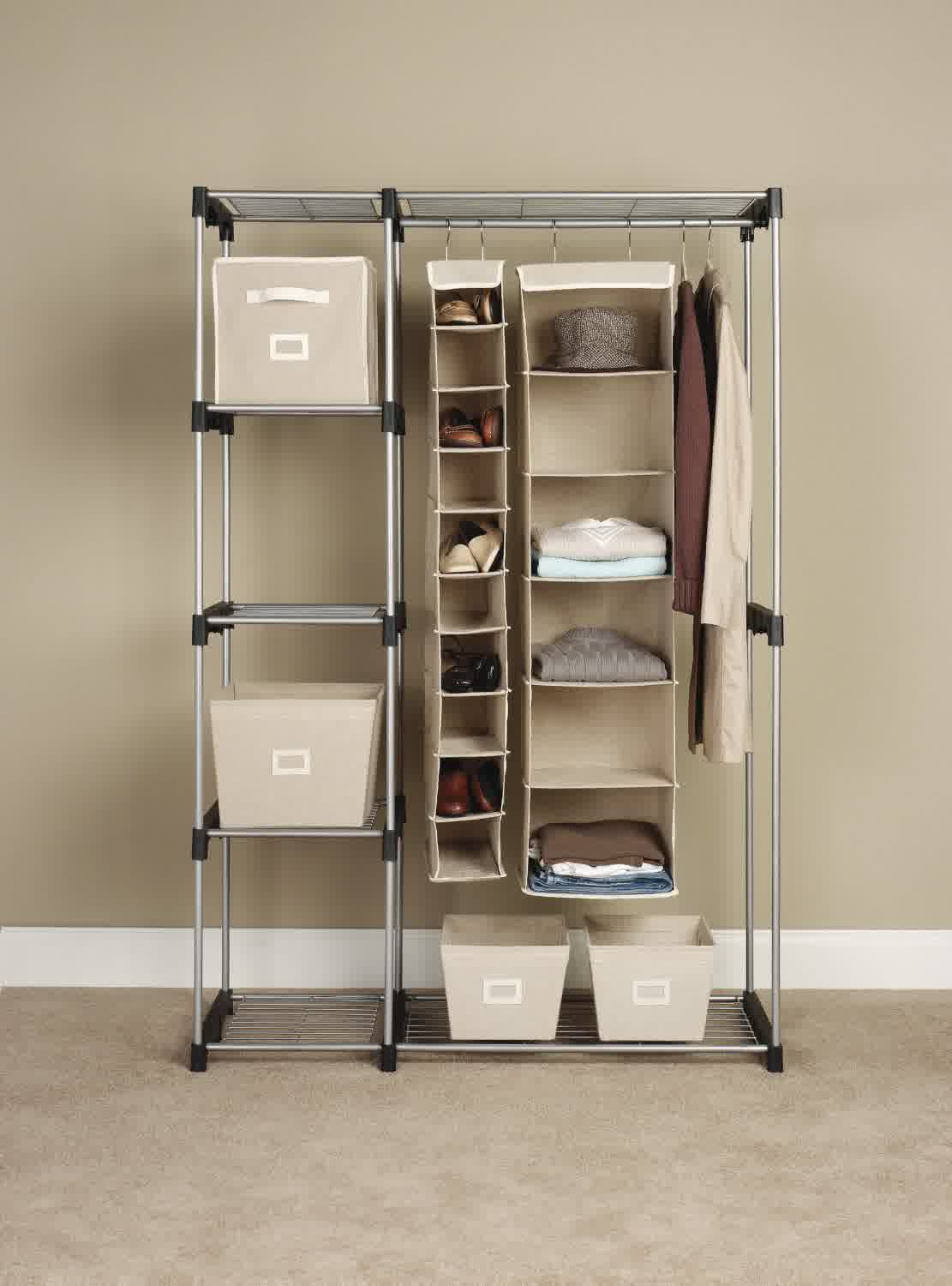 Smart ways to maximize storage ideas for small closets for Storage solutions for small closets