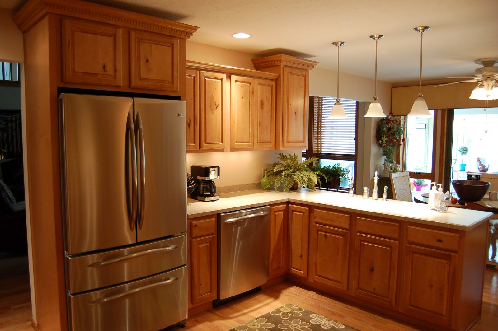 Sweetlake Interior Design LLC Interior Decorator Houston Texas For Modern  Sleek Look Kitchen With Natural Wooden