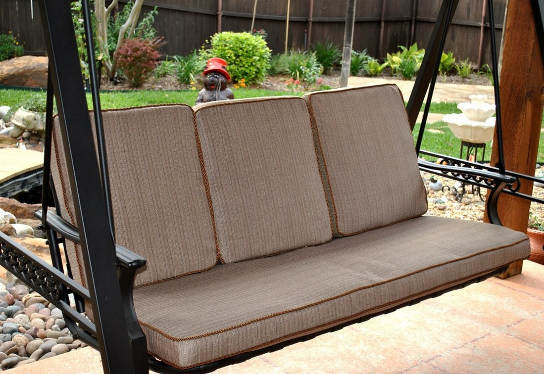 Swing Chair With Cushions For Patio