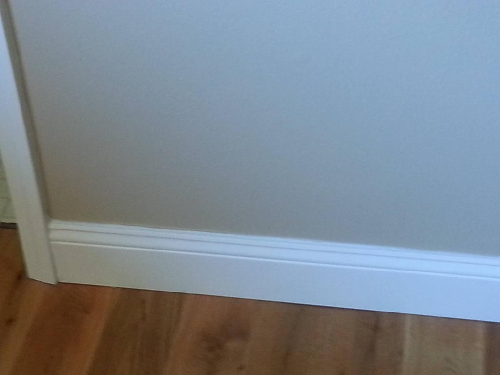 Paint Baseboards Wall Color