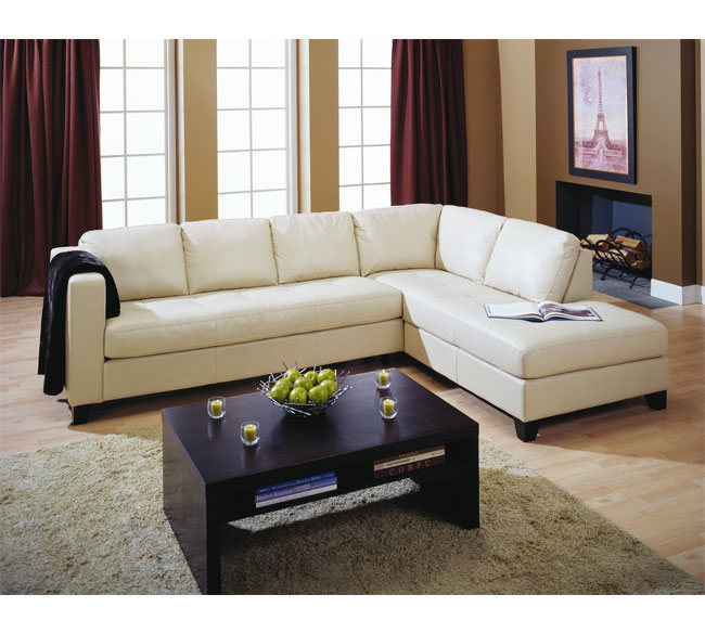 White Stationary Sectional Sofa Black Stained Wood Coffee Table With Shelf Underneath Rug In Light