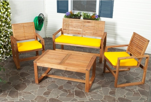 Closeout furniture selections for outdoor spaces homesfeed for Outdoor furniture yellow