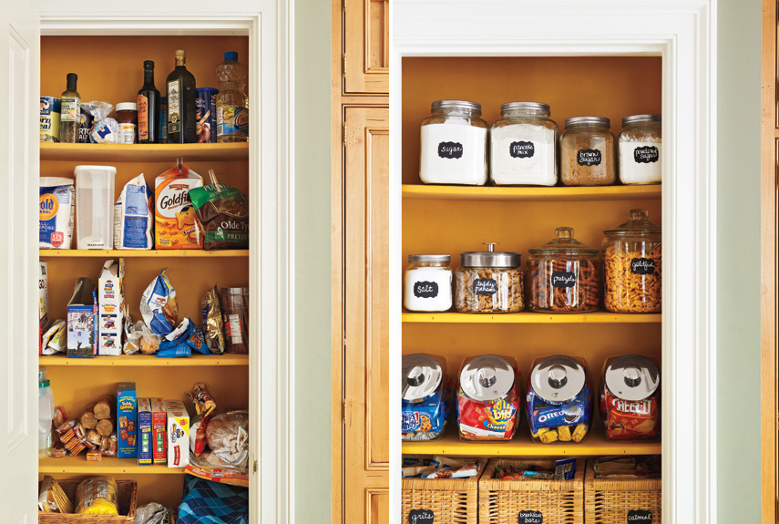 Awesome Organizing A Pantry In 5 Simple Steps Homesfeed