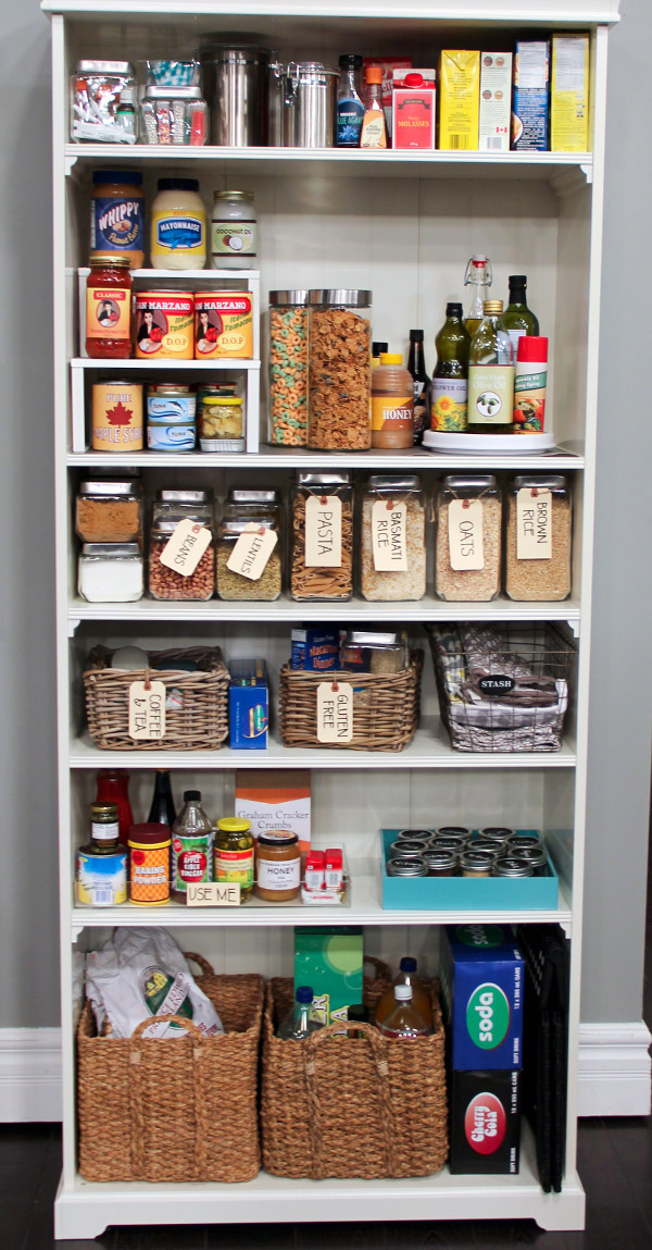 Organize A 6 Month Capsule Wardrobe For Fall And Winter: Organizing A Pantry In 5 Simple Steps