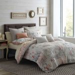 abstract motive soft color organic cotton bed sheets soft color bedroom wall photographs gray rug