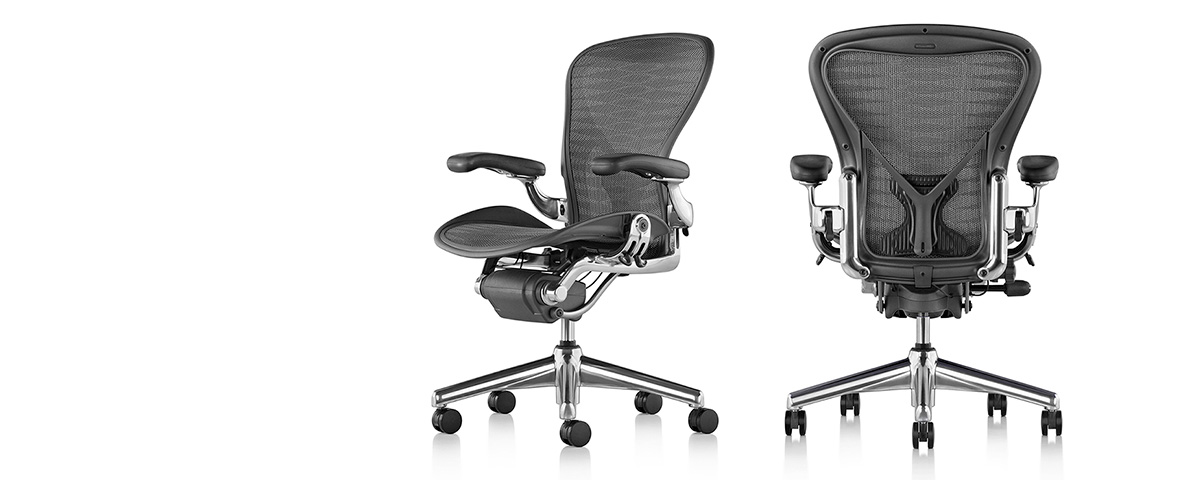 Adorable And Comfortable Herman Miller Aeron Chair Parts Design With Tall  Backrest And Wheels