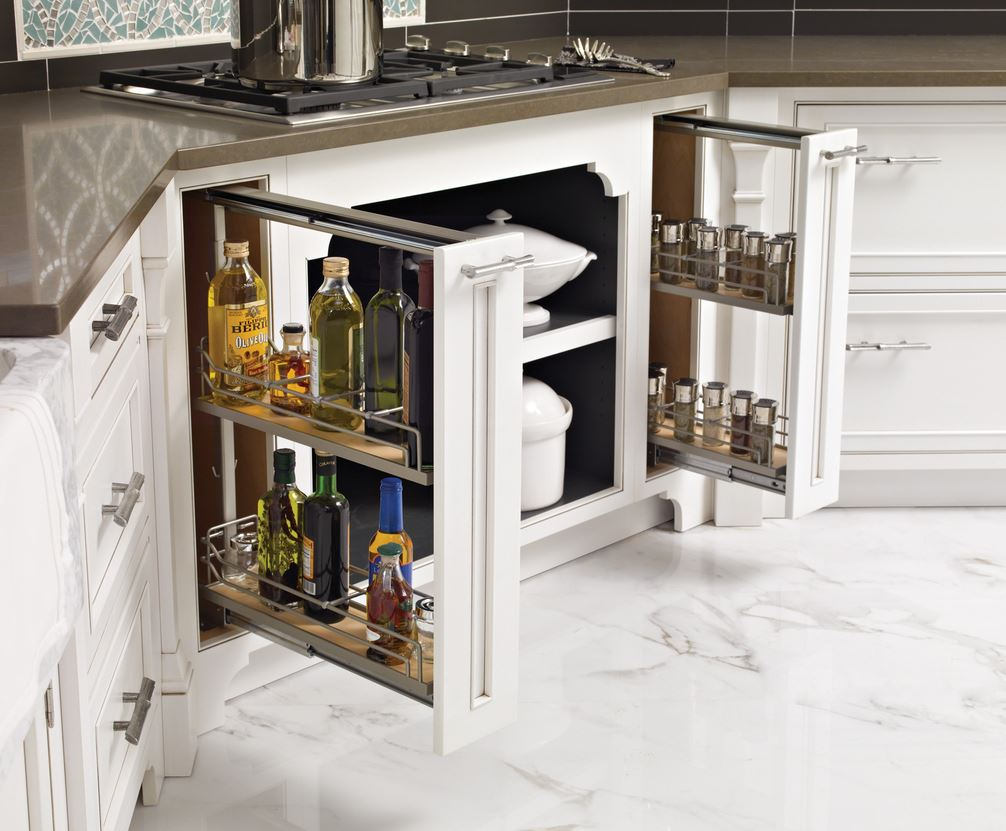 In Drawer Spice Racks Ideas for High Comfortable Cooking Style ...