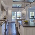 amazing kitchen decoration with engineered hardwood flooring pros and cons combined with white wooden cabinets and jar lighting fixture