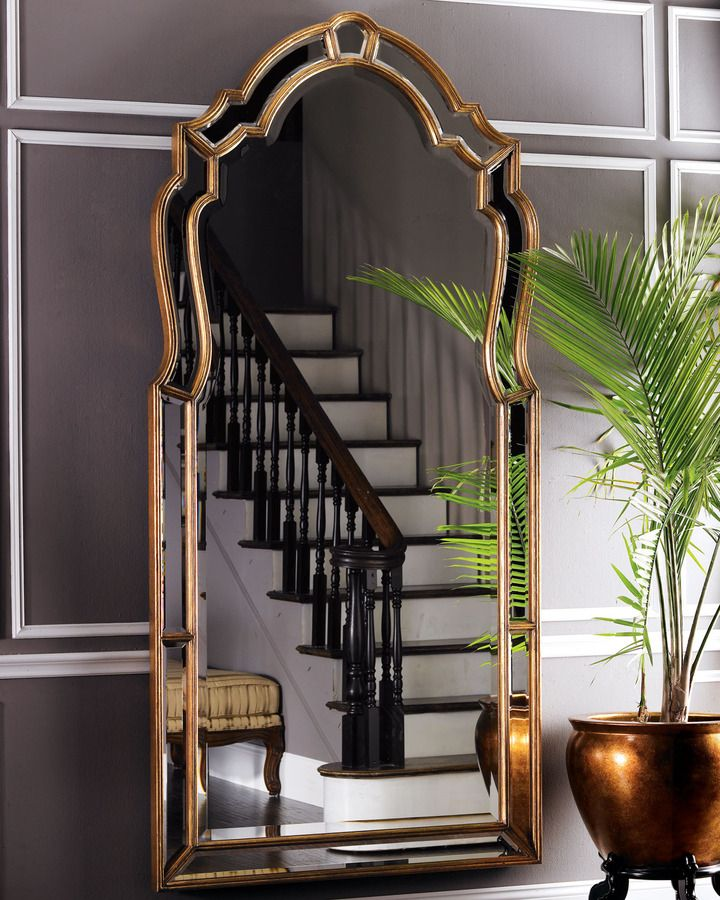 Some Bevelled Floor Mirrors That Add Luxury For Every