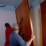 attaching the headboard