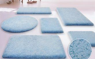 bathroom carpet blue