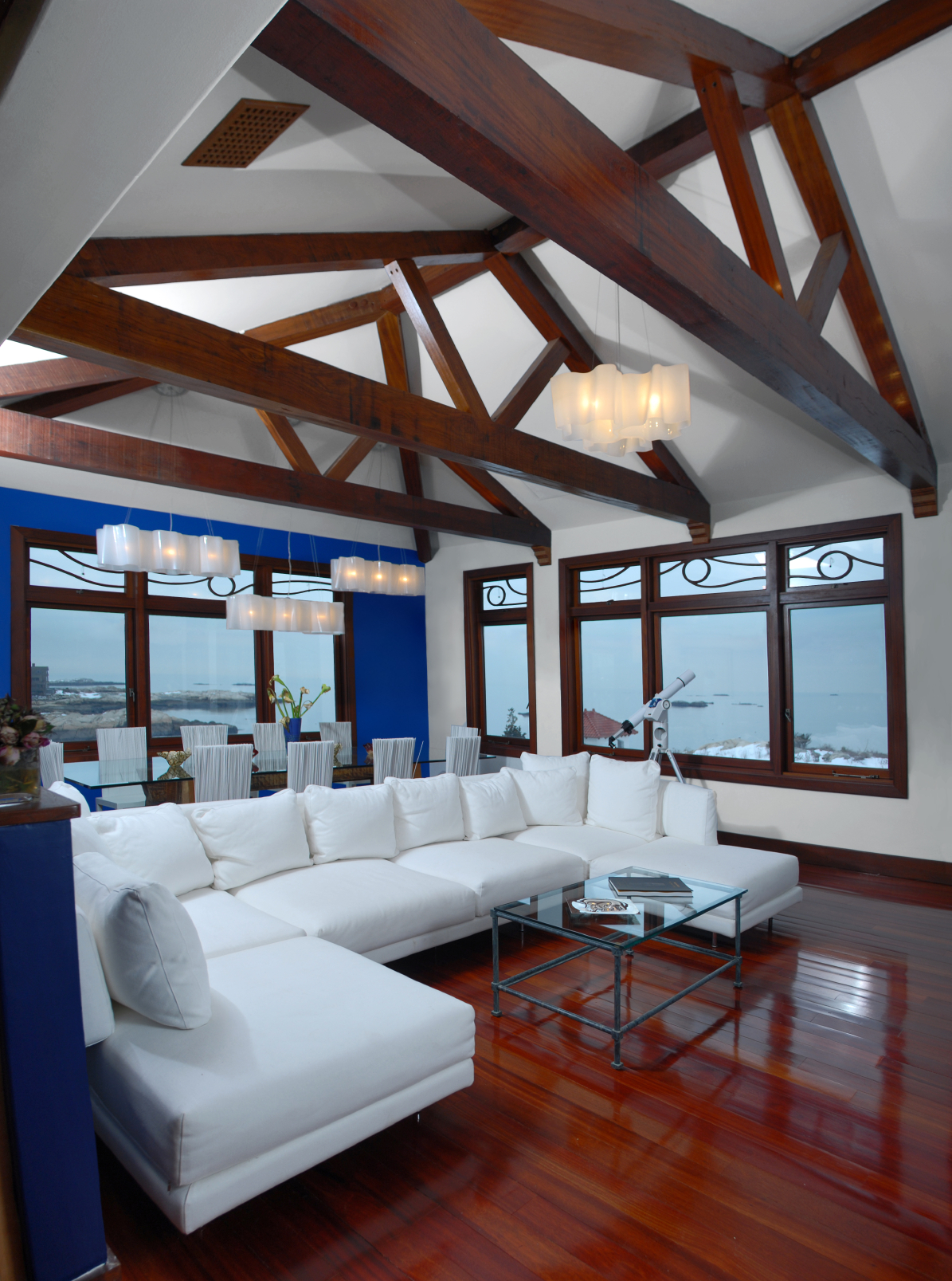 Down Ceiling Designs For Drawing Room: Exposed Ceiling Beams Ideas