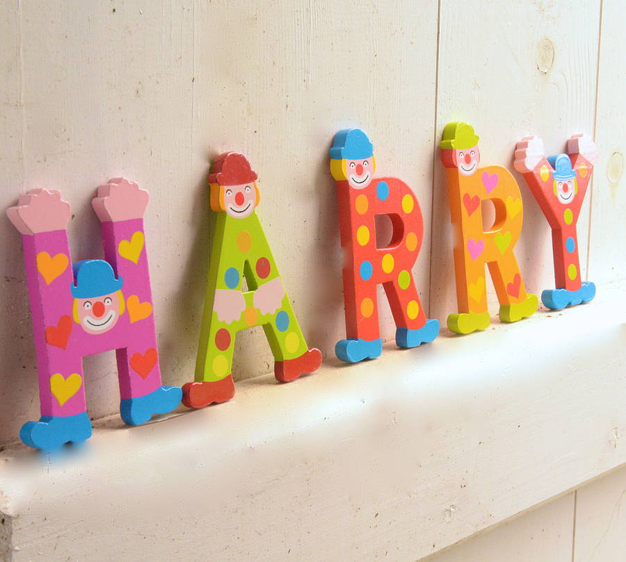beautiful harry large decorative letters