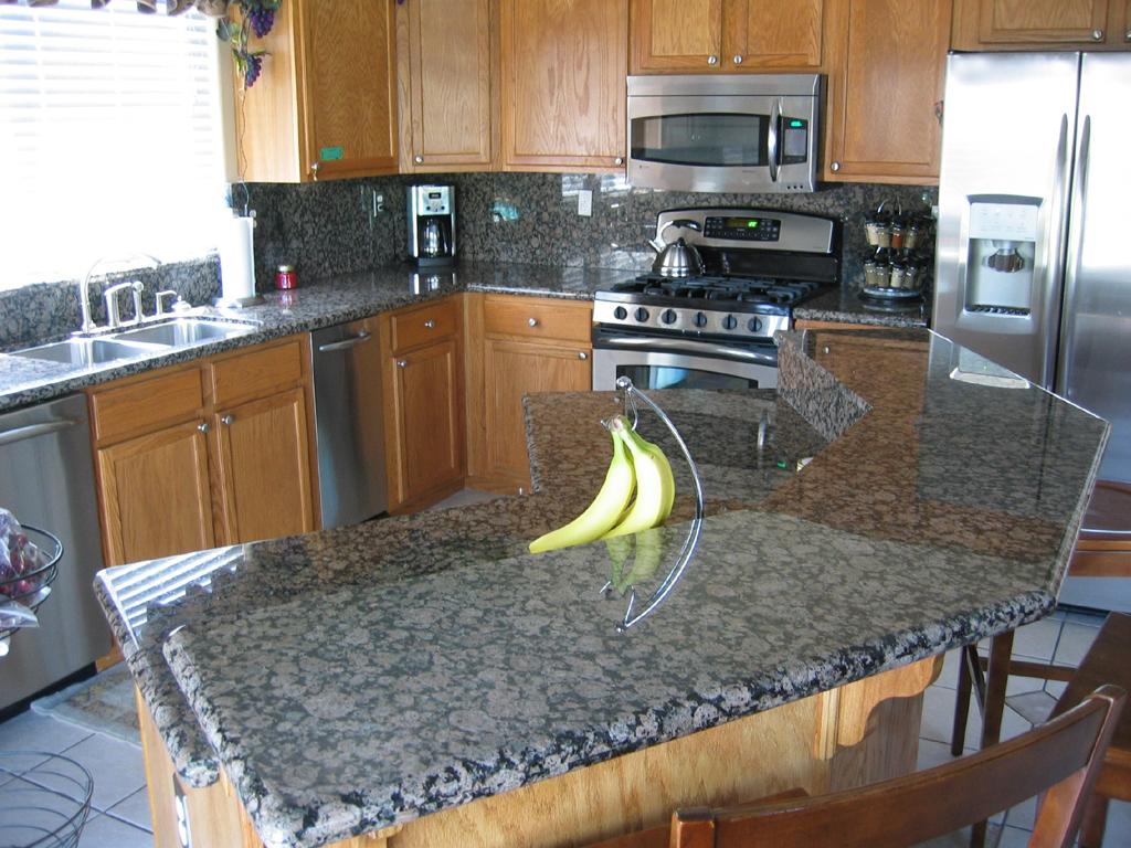 Brown Granite Kitchen Countertops Gorgeous Inspiring Images Of Granite Countertops Homesfeed