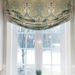 beautiful exotic motive blue tone outside mount roman shades white window frame with decorative flower and picture