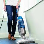 beautiful gray blue modern spray mop for hardwood floors