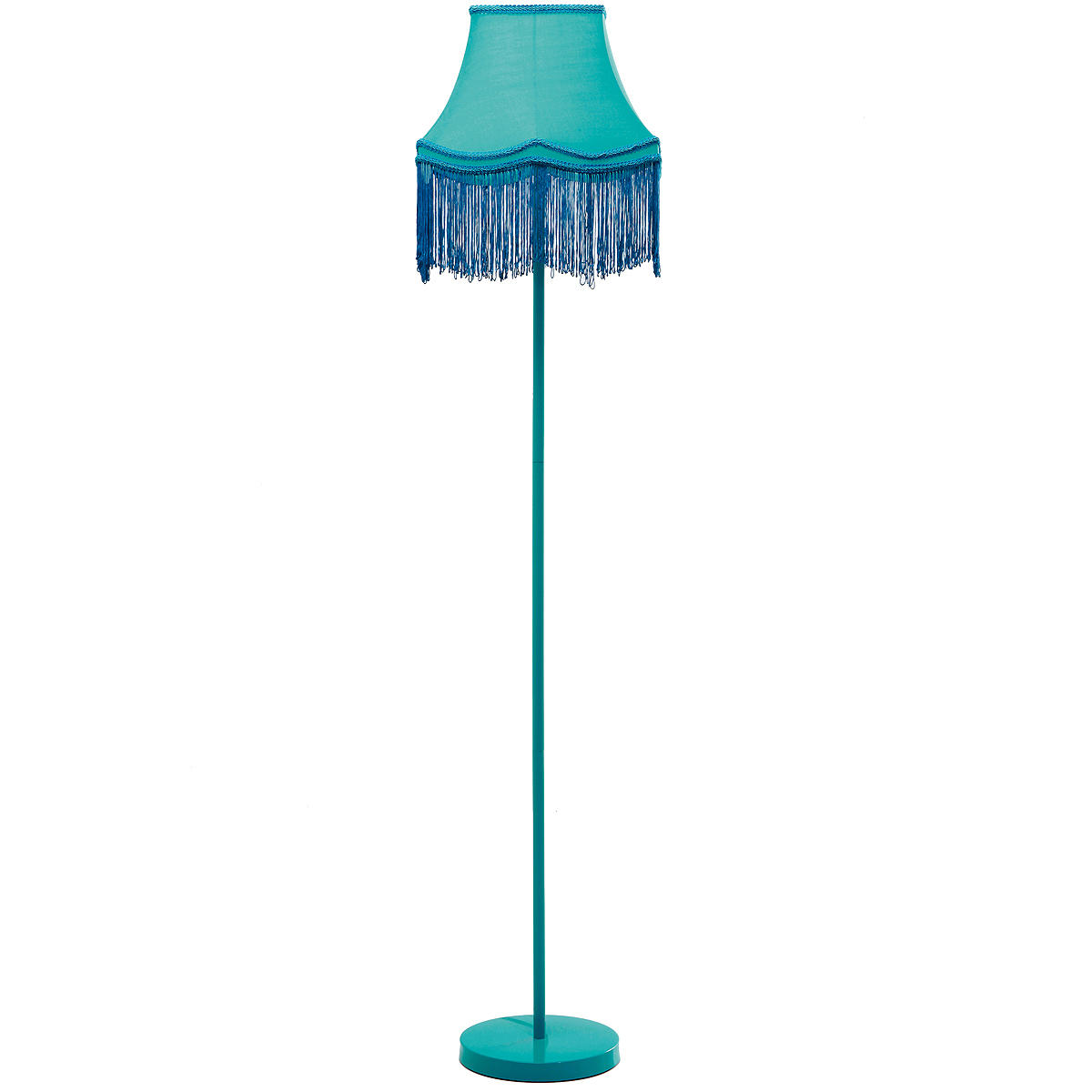 a turquoise floor lamp enlightening your room dramatically homesfeed. Black Bedroom Furniture Sets. Home Design Ideas