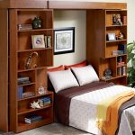 bed murphy pillows rug books