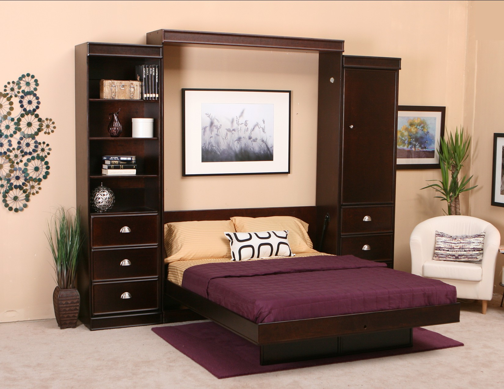 Murphy beds chicago homesfeed Little home bedroom furniture