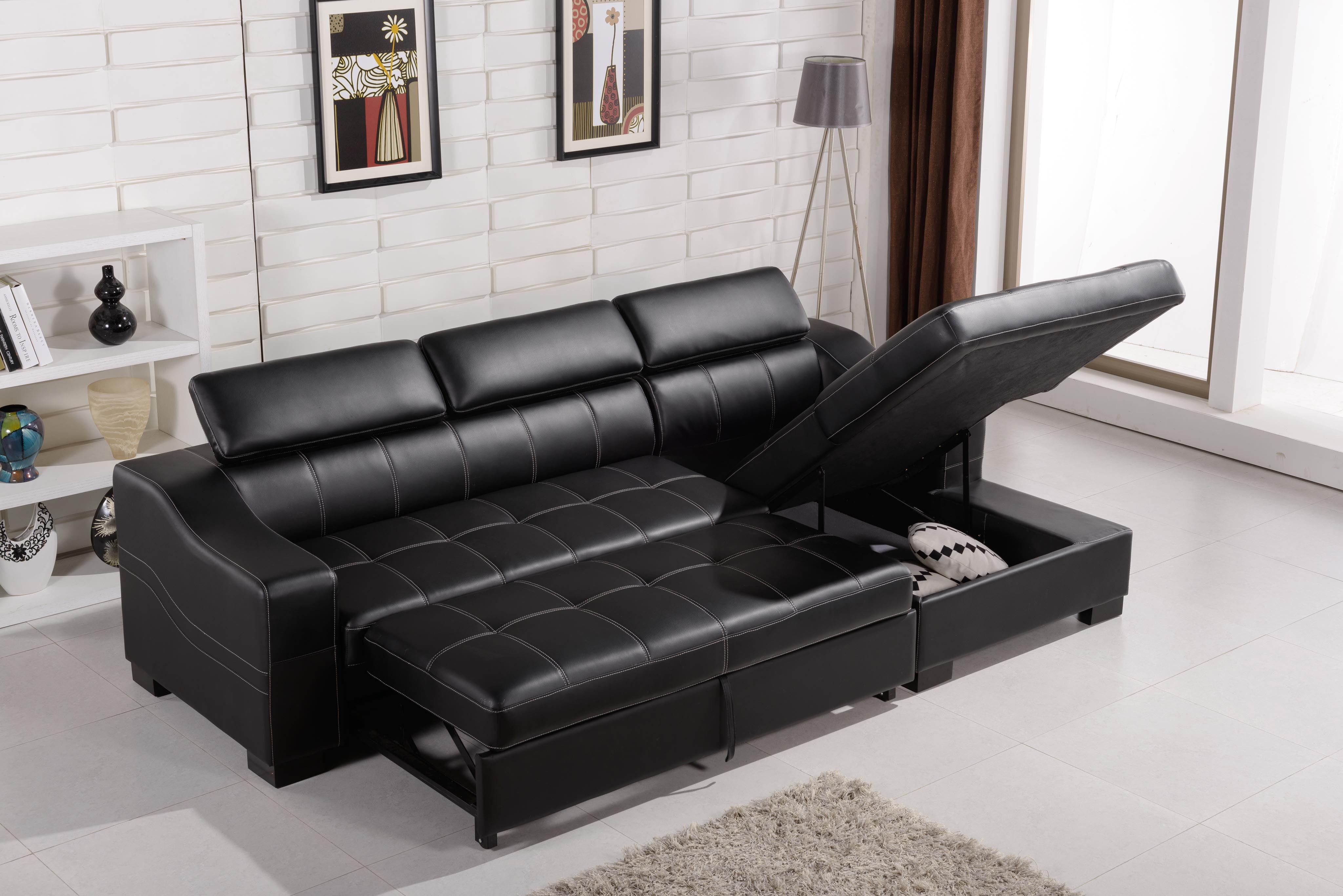 Sectional Sofa That Turns Into A Bed Modern Sofas That Turn Into Beds Homesfeed
