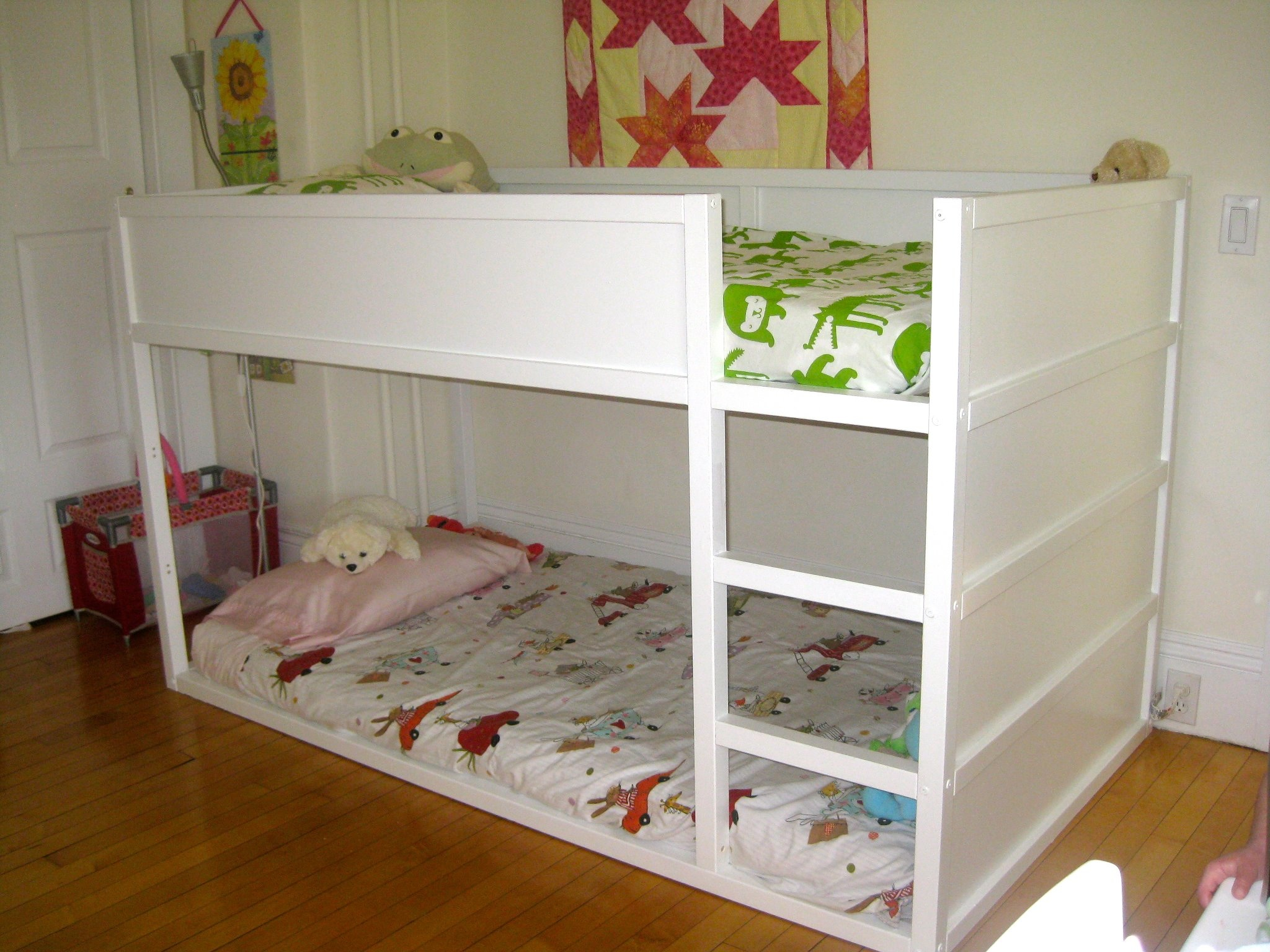 contemporary children twin beds with storage | homesfeed