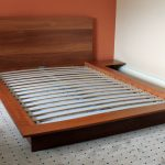 bedroom queen low profile bed frame