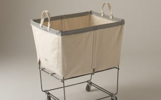 best laundry carts on wheels with laundry bag for home